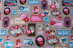 Stenzo Stoff   100 % Baumwolle von l'atelier auf DaWanda.com