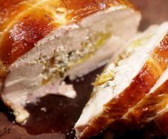 How to Cook a Boneless Chicken Roast With Apricot & Herb Stuffing Weber Bbq Recipes, Herb Stuffing, Boneless Chicken, Roast, Sandwiches, Herbs, Cooking, Christmas, Food