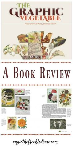 During the dreary winter months, I begin to really miss being out in my garden. It can be challenging knowing that the long wait until spring is far from being over. I like to curb these feelings with some seed catalogs and good gardening books. A Graphic Vegetable... @schifferbooks #GoodGardens