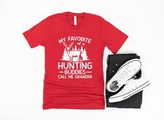 Grandpa Hunting Shirt/ Hunter Grandpa Gift/ My Favorite | Etsy