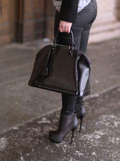 LV bag & YSL shoes