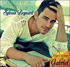 @sylvainreynard Even before i started reading #GabrielsInferno Matt Bomer was already my Gabriel <3 #TeamBomer
