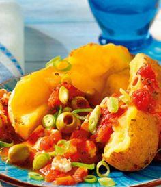 vegetarische Ofenkartoffel griechische Art: http://kochen.bildderfrau.de/rezepte/rezept_griechische-ofenkartoffel-mit-tomaten_194333.aspx  #vegetarisch