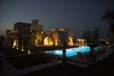 La Residenza Masseria Pettolecchia Puglia at night