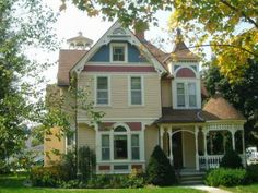 Scandinavian Inn, a Lanesboro Bed and Breakfast inspected and approved by the Minnesota Bed and Breakfast Association Romantic Vacations, Romantic Getaway, Best Vacations, Romantic Travel, Lanesboro Minnesota, Victorian Architecture, Worldwide Travel, Victorian Homes, Victorian Era