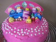Shopkins cake! My daughter loved it!