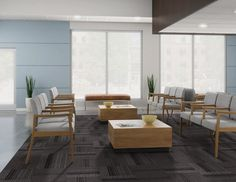 Help your client get comfortable about their visit. Believe it or not, many patients get stressed and nervous about a simple doctor visit. In order to help them relax, keep a simple organized waiting room using calming colors for decor.