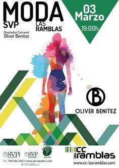 Viernes 3 a las 19:00 h. Diseñador de Carnaval, Oliver Benítez.