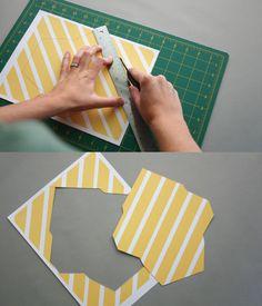 DIY mailing envelopes