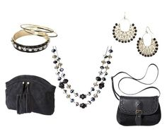 Basic Black Accessories in the Target Online Clearance (Save 50-65%!)