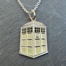 TARDIS / Doctor Who necklace