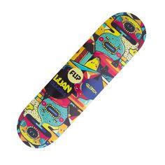 666da791f4 Shape Flip Skateboards Maple Oliveira Invert Mind 8,0' Amarelo
