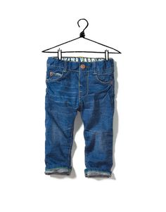 Little boy jeans don't get much cuter than this.