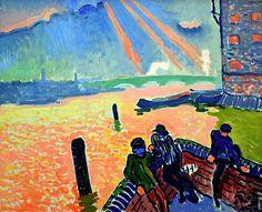 Andre Derain - Le port de Londres, 1905