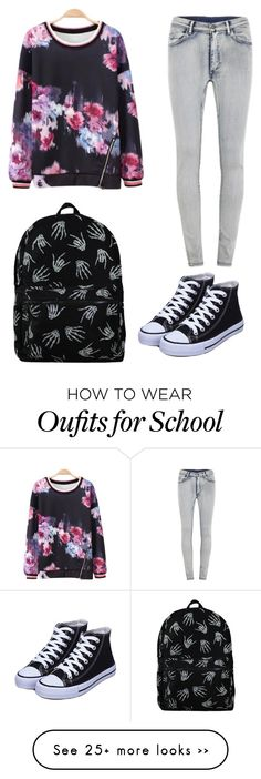 """Back to school"" by teenwolff on Polyvore featuring moda y Cheap Monday"