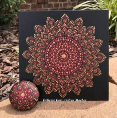 Tag your work with Im throwing it back this Thursday to this canvas stone set I did over a year ago. It really doesnt feel like it was that long ago. Hope you enjoy revisiting this piece with me! Mandala Canvas, Mandala Dots, Mandala Design, Mandala Drawing, Mandala Painting, Dot Art Painting, Stone Painting, Zen Art, Stone Art