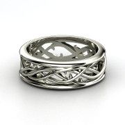 Vine wedding band from Gemvara.  Amazing jewelry!