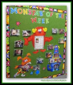 200 Back to School Bulletin Boards & Classroom Doors at RainbowsWithinReach Monster Bulletin Boards, Monster Theme Classroom, Back To School Bulletin Boards, Classroom Bulletin Boards, Classroom Posters, Classroom Door, Classroom Themes, Classroom Organization, Classroom Management