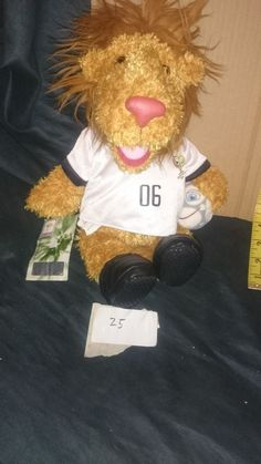 GERMANY 2006 WORLD CUP FOOTBALL FIFA GOLEO SOFT TOY Plush Official Product  | eBay