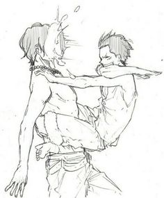 Ace & Luffy #brother