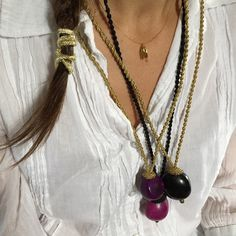 """eggs & eggs #necklace #Easter #jewelry #jewellery #bohochic #colors #Greece #greekjewelry #greekdesigner #inspiration #mariannapetridi #original_designs…"""