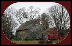 A national historic landmark in Lincoln, Rhode Island. Historic New England, New England Homes, Arnold House, Creaky Floors, Early American Homes, Colonial House Exteriors, Newport Rhode Island, Old Bricks, Colonial America