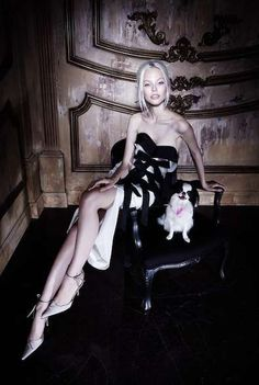 Grayscale Victorian-Like Fashion Ads - The Alexander Mcqueen Fall 2013 Campaign Stars Edie Campbell (GALLERY)