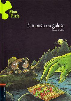 El monstruo goloso  James Preller, Peter Nieländer (il.)   A pesar de estar de vacaciones, Nino se ve obligado a volver a investigar,  aquella leyenda del monstruo del lago le ha hecho volver a trabajar.