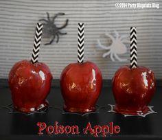 Poison Apple Halloween Treat!