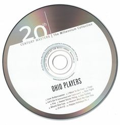 Ohio Players 20th Century .. Best Of Ohio Players 2000 CD Professionally Cleaned