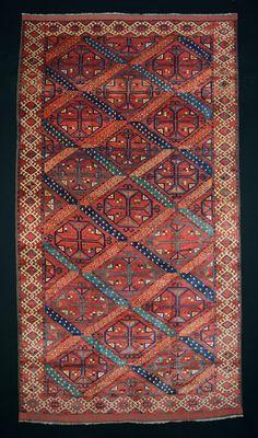 Mohammad Tehrani Ersari maincarpet 295 x 160 cm 1st half 19th Century