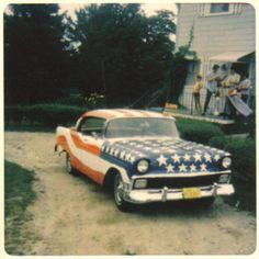 """As it turned out, a long haired student driving a car painted like an American flag during the height of the Vietnam War generated a whole lot of reaction."""