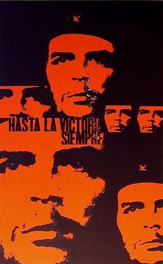 Antonio Perez Gonzalez (NIKO), Cuba Hasta la Victoria Siempre (Ever Toward Victory), 1967 serigraph