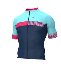 SHORT-SLEEVED CYCLING JERSEY META 2018 NAVY O10 Perfect for the summer, this short-sleeved cycling jersey quickly wicks away perspiration and keeps you nice and dry. A full-length zipper and an elastic waistband with silicone dots and a trim come together to provide an excellent fit. The jersey features three open pockets. This garment is perfect for road cycling and mountain biking.