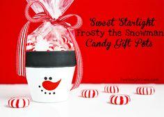 Dyi snowman gift