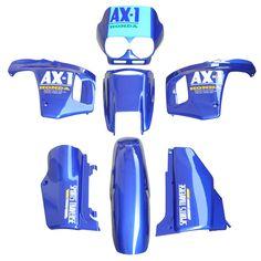 For Honda AX-1 250 NX250 NX 250 AX1 Sports Traverse Blue ABS Plastic Fairing Cowl Bodywork Kit Set New #Affiliate