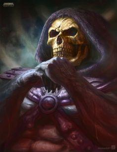 Skeletor by *ImmarArt on deviantART