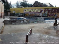 North Vancouver, Skate Park, Exterior, Urban, City, Image, Outdoor Rooms, City Drawing, Cities