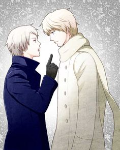 Prussia and Russia // again, don't ship, just liked the picture.