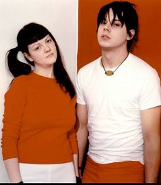 the white stripes...just fell in love with meg's hairstyle