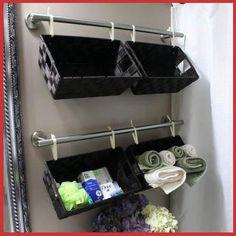 DOEN-DIT-SELF: Hier's 'n oulike idee vir bêre-plek in jou badkamer.