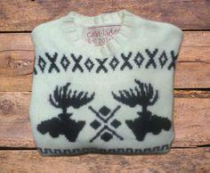 Maglione lana - maglione renne - maglione islandese - Casa Isaac taglia S -