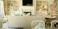 coastal decorating ideas living room - Google Search