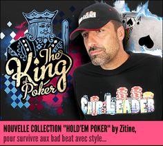 Zitine - Vente de tee shirts pour les joueurs de Poker