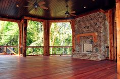 Gorgeous Deck with outdoor hearth