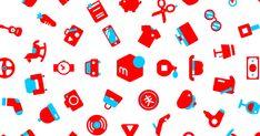 Hello new logo 100 Logo, Typography Logo, Mercari, Branding, Notes, Graphic Design, How To Make, Sexy, Brand Management