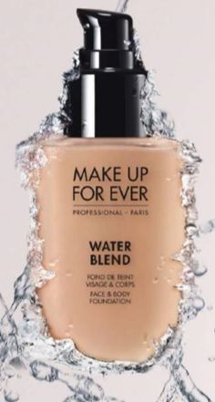 makeup forever water blend.  I got it at the last makeup show and it's amazing!   Great for building up a best coverage without feeling and looking overdone.
