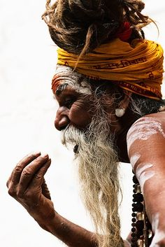 India    Image of a Sadhu.     Azli Jamil     Source: flickr.com