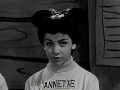 Mickey Mouse Club. RIP Annette. Thanks for the memories.