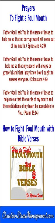 How to Fight a Foul Mouth with Bible Verses 2nd Edition